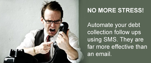 sms messages for debt collection