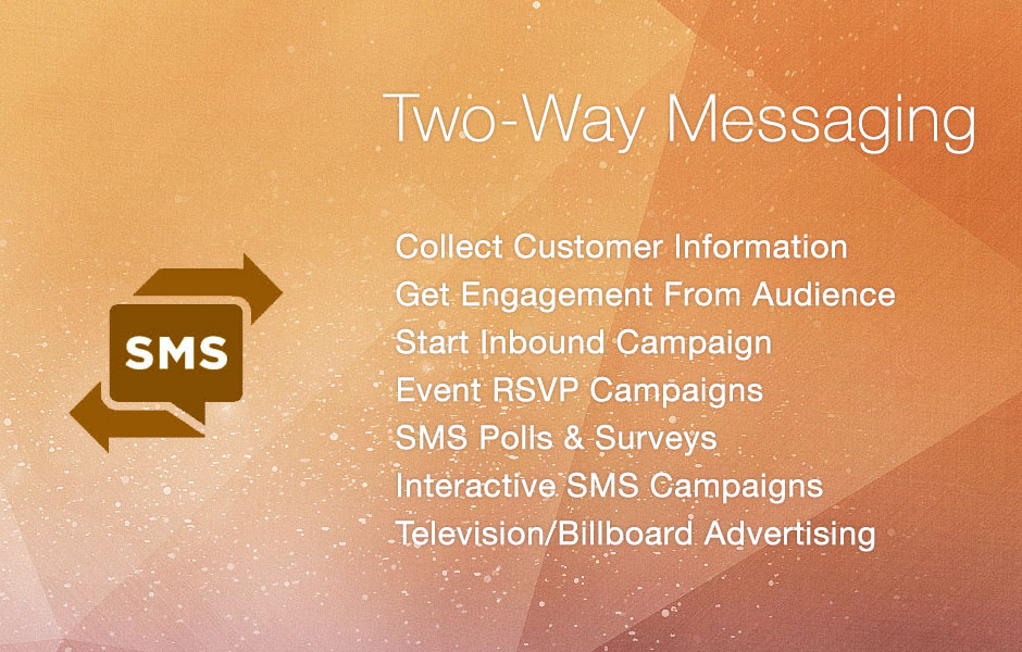 Two-Way SMS Marketing